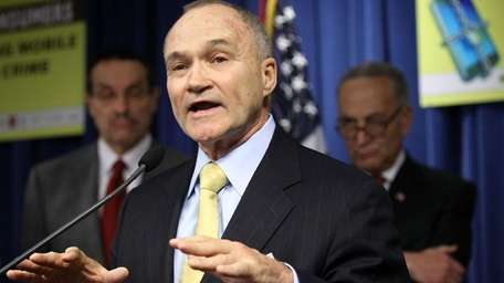 New York City Police Department Commissioner Ray Kelly