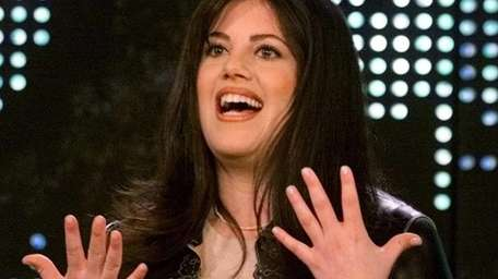 Former White House intern Monica Lewinsky during the