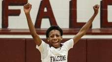 Deer Park's Anthony Daley celebrates his team's win