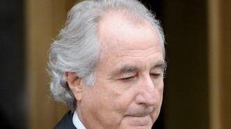 Disgraced financier Bernard Madoff leaves federal court in