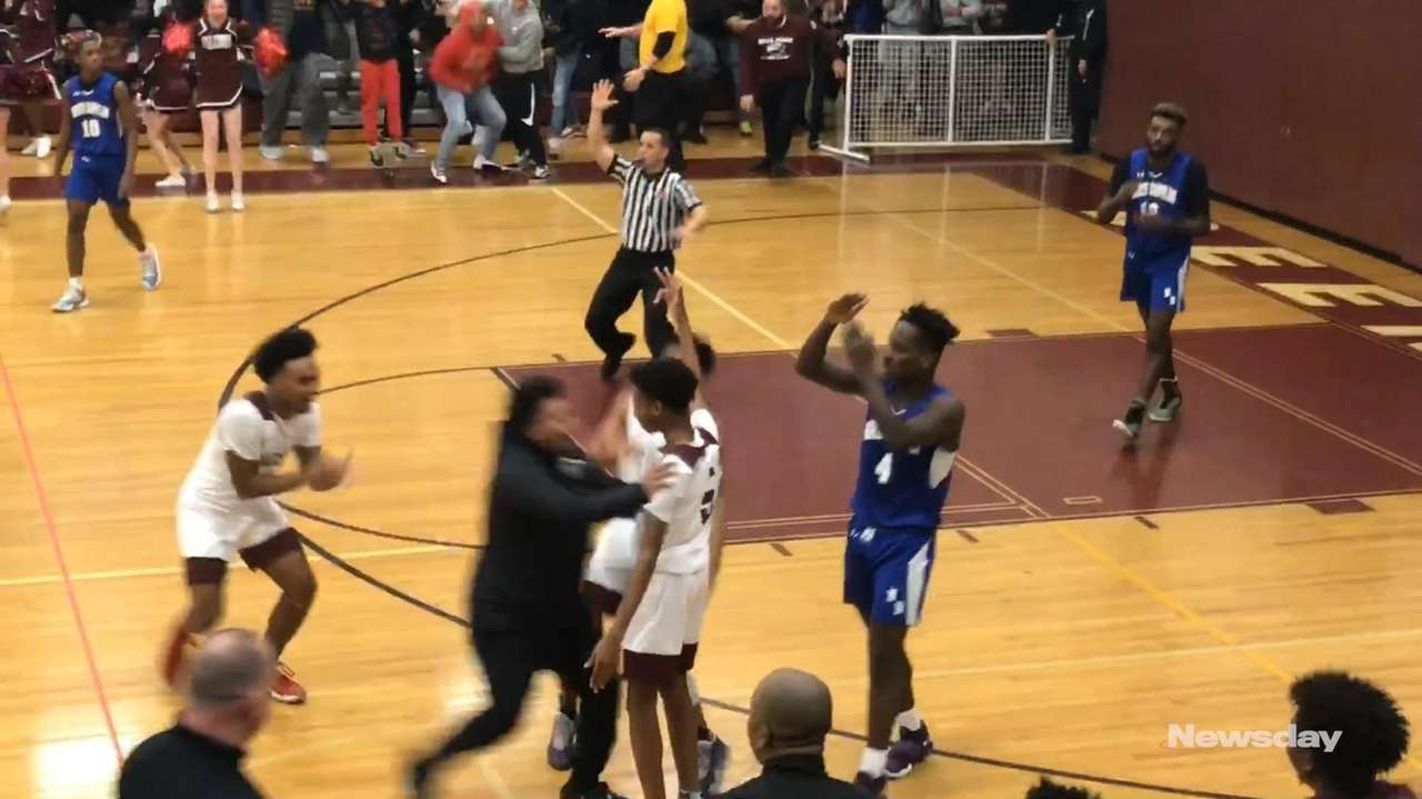 Anthony Daley hit a three-pointer with 3.2 seconds