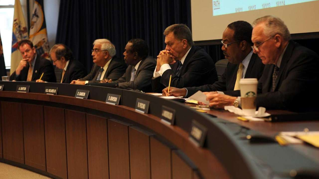 The Port Authority Board of Commissioners hold a