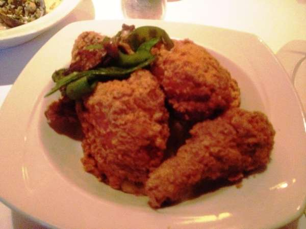 The fried chicken at Huntington's 34 New Street
