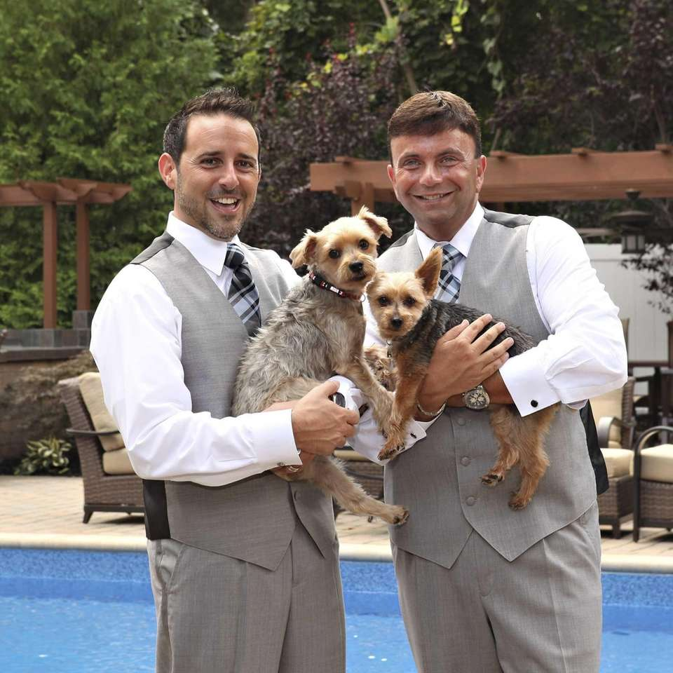 Robert Vitelli and David Kilmnick wedding was held