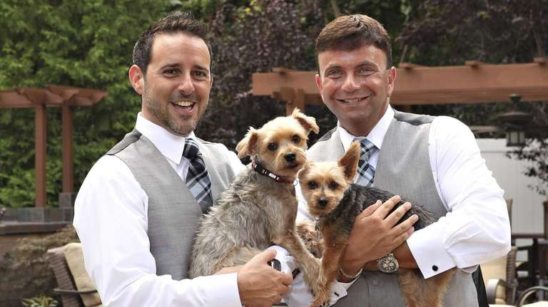 Robert Vitelli and David Kilmnick wedding was held