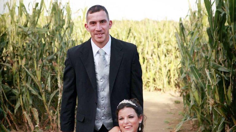 Liza Galvao traded in stilettos for Steve Madden