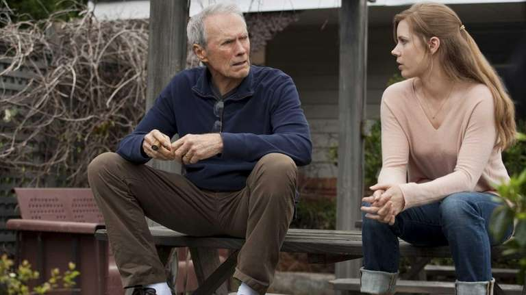 Clint Eastwood as Gus and Amy Adams as
