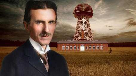 Through digital technology, Nikola Tesla's Wardenclyffe tower