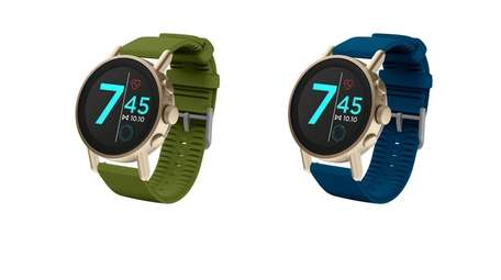 The Misfit Vapor X smartwatch is powered by
