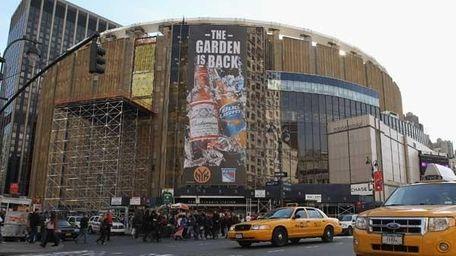 Madison Square Garden, November 2011. (Getty)