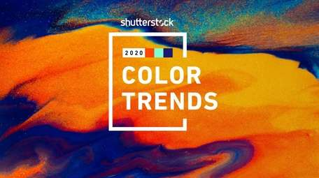 Shutterstock Color Trends for 2020 are deeper hues