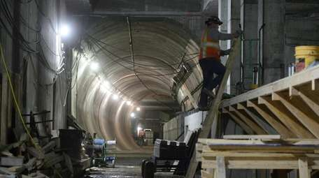 The MTA's capital plan set aside funding for