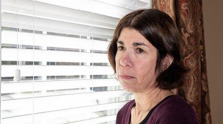 Irene Wilkowitz in her Rhode Island home in