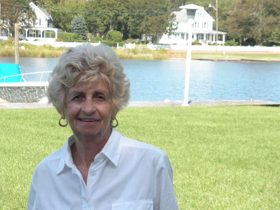 Miriam Gillies, 76, is an active Center Moriches