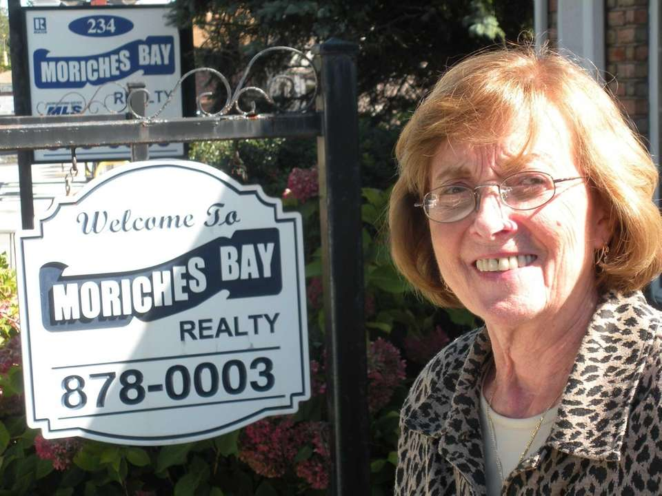 Gerry Sapanaro, 76, owner of Moriches Bay Realty,