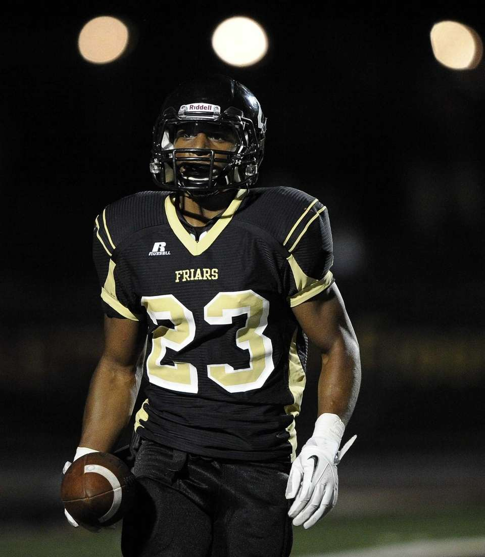 St. Anthony's Jordan Gowins scored three touchdowns in