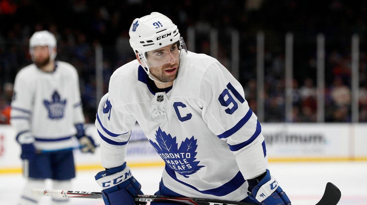 Maple Leafs' John Tavares lauds Islanders' defensive improvement   Newsday