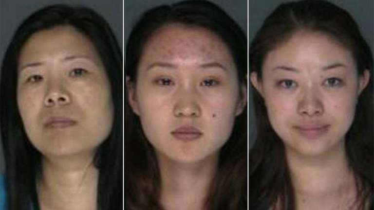 NEWSDAY COMPOSITE: Three women, Xiu-Fang Ye, 40, Lina