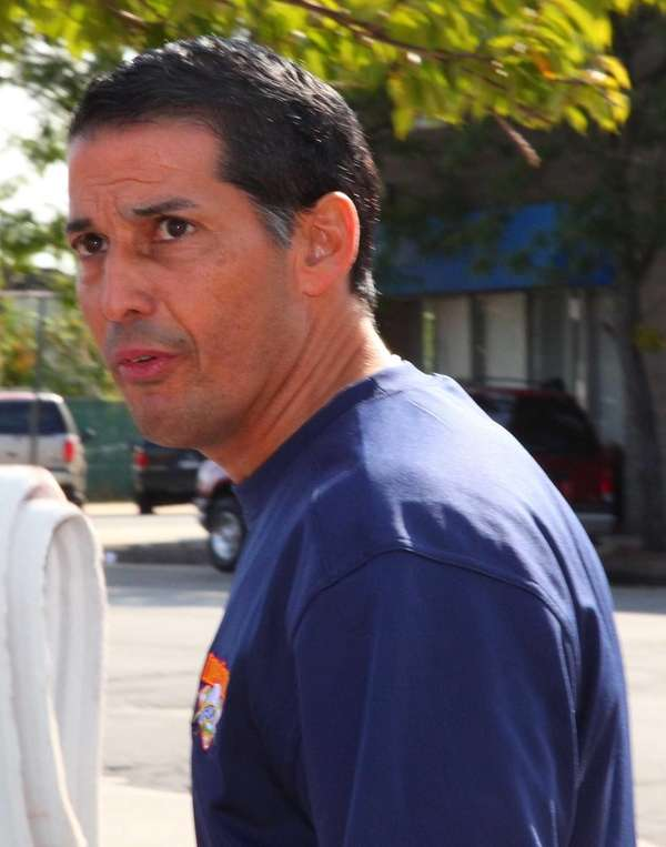 Town Clerk Mark Bonilla pleaded not guilty to