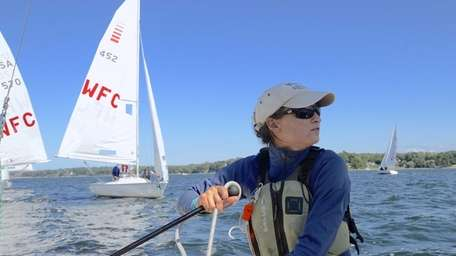 Alicia Martorella, 32, the sailing director at the