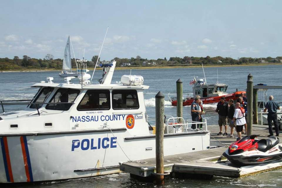 Nassau County Police, as well as units from