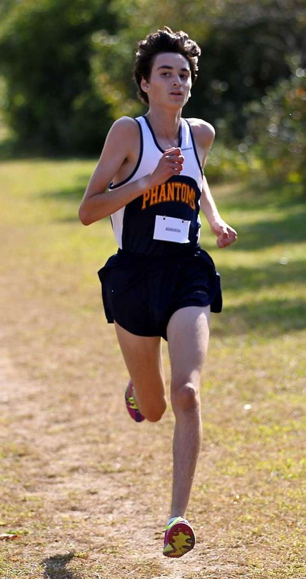 Bayport-Blue Point's Adam LaFemina takes second place in