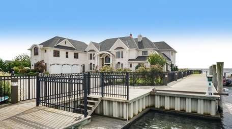 This West Islip estate, with its own private