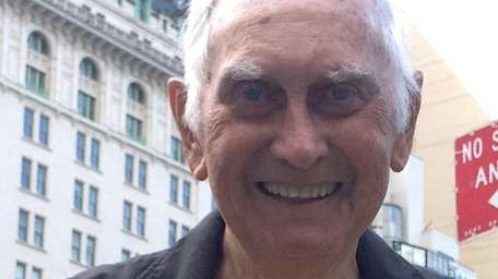 Bill Benson, 93, completed the Fifth Avenue Mile