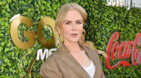Nicole Kidman attends the Gold Meets Golden event