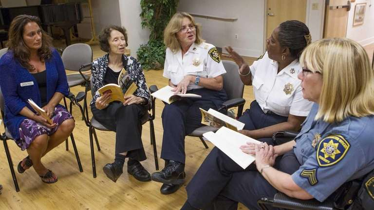 Correction officers, formally incarcerated women, prison reform activists