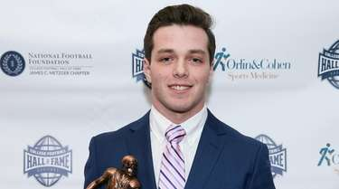 Christopher Daleo of Westhampton Beach poses with the