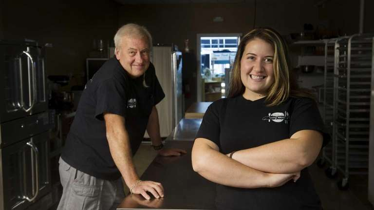 Father and daughter Jim and Courtney Thompson, owners