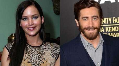 Jennifer Lawrence and Jake Gyllenhaal