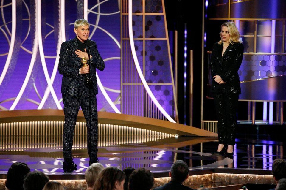 This image released by NBC shows Ellen DeGeneres