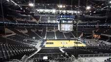 The court, after the Barclays Center Ribbon Cutting