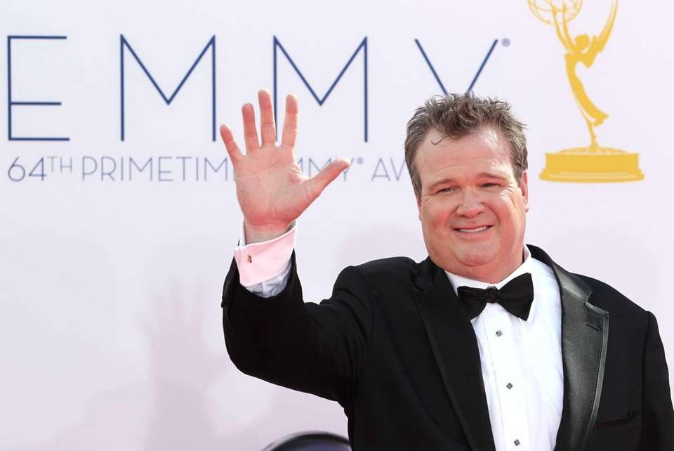 Eric Stonestreet arrives at the Nokia Theatre in