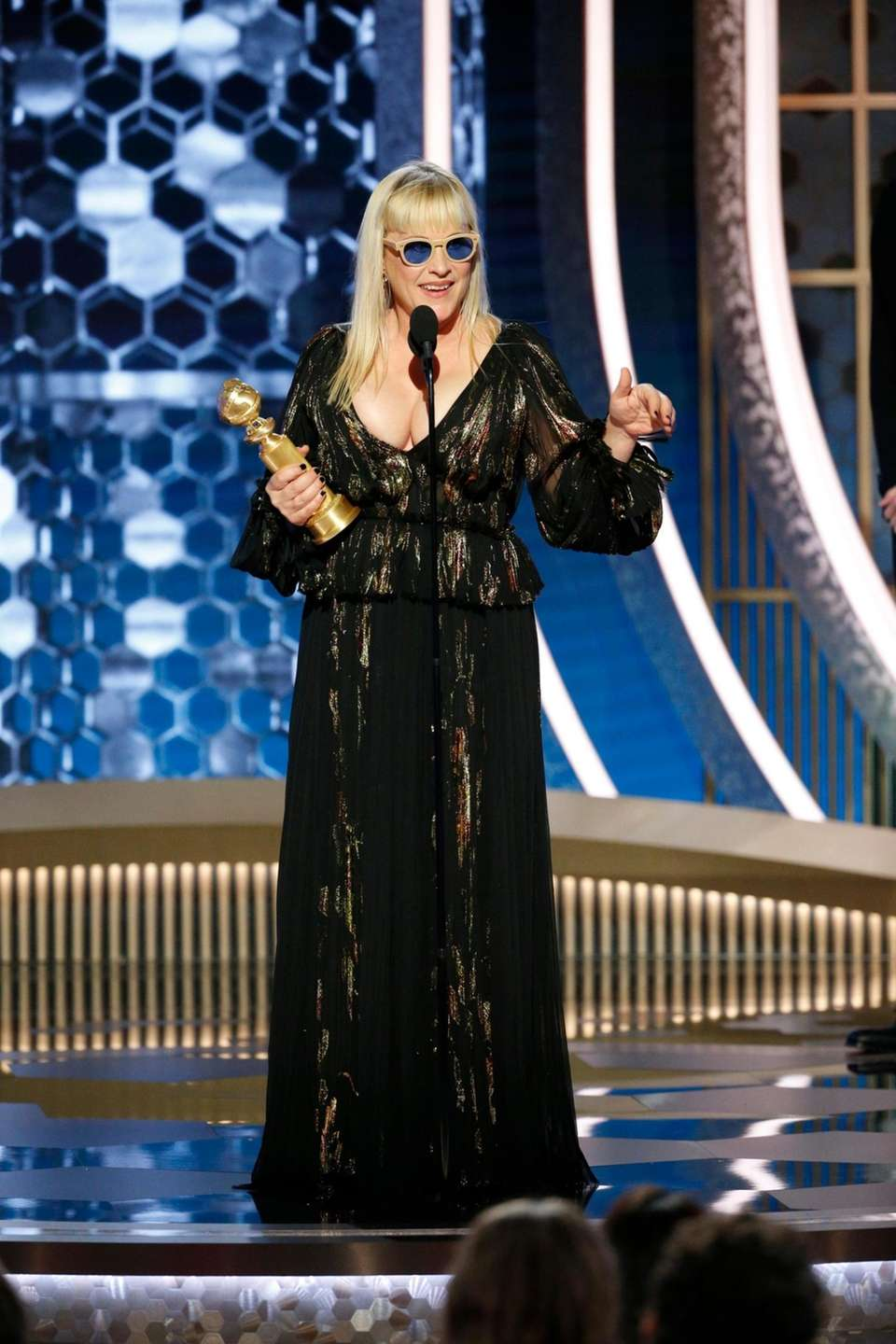 This image released by NBC shows Patricia Arquette