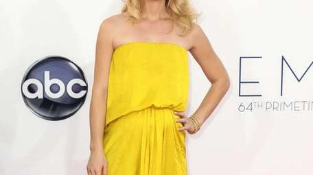 Claire Danes arrives at the 64th Primetime Emmy