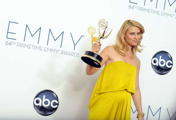 Actress Claire Danes, winner of the Outstanding Lead