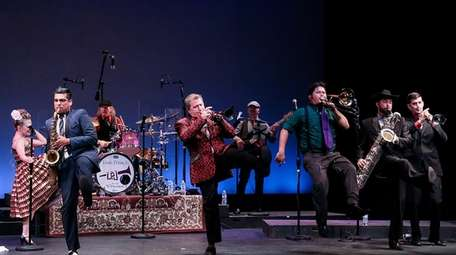 Louis Prima Jr. and the Witnesses will perform