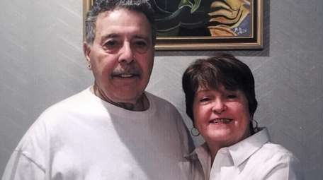 Joann and Joe Gomi of Hauppauge wcelebrated their
