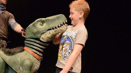 """Dinosaur World Live"" comes to the Tilles Center"