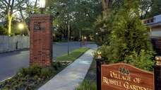 Russell Gardens pierced the state tax cap on