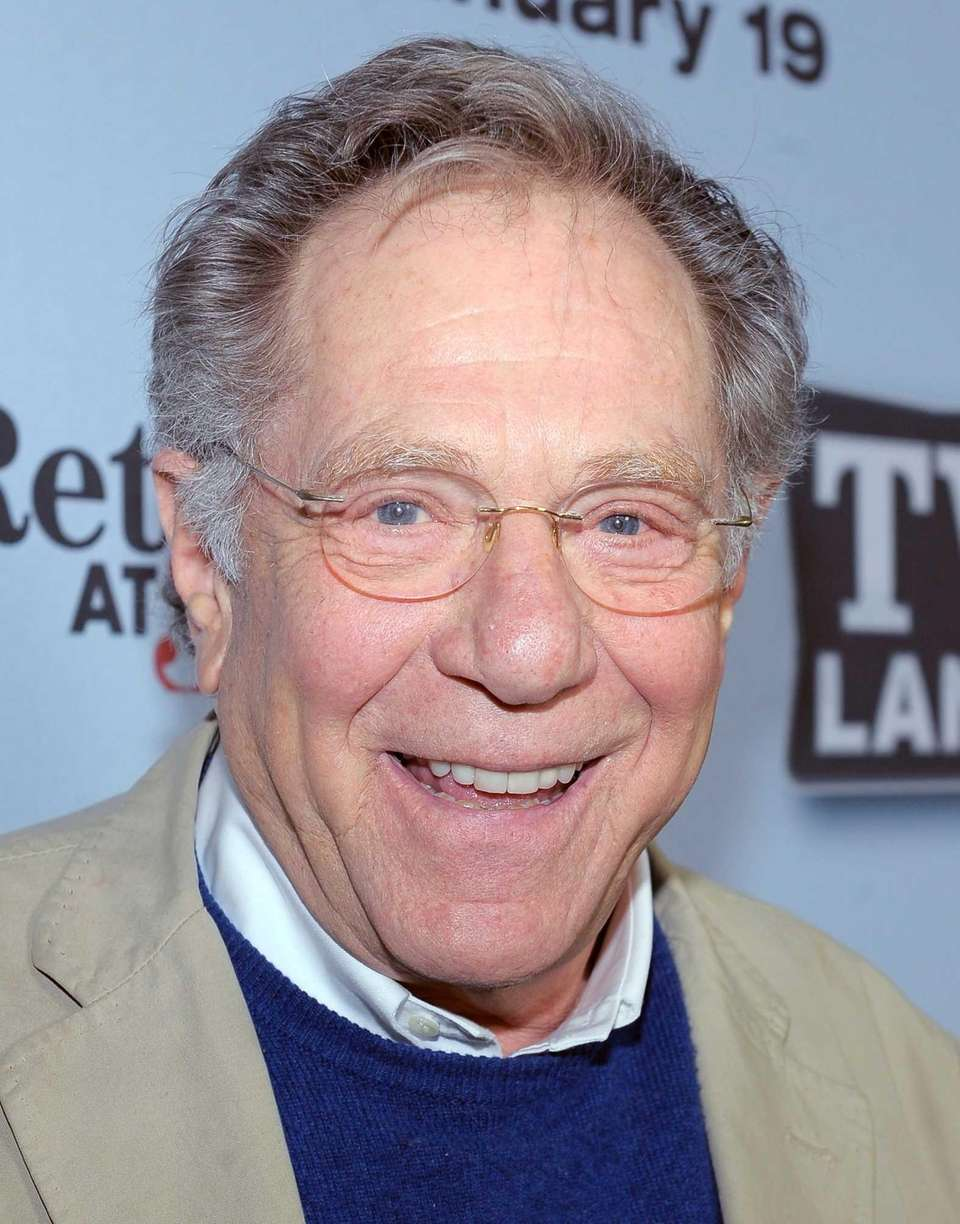 Actor George Segal, who received an Oscar nomination