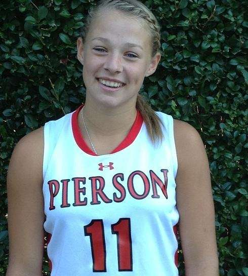 Pierson/Bridgehampton star Kasey Gilbride