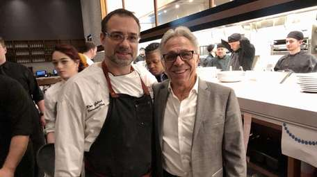 Owner Anthony Scotto, right, and executive chef Ron