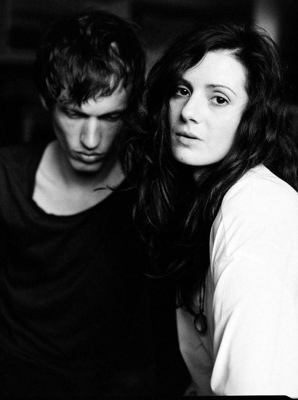 The indie band Exitmusic (Aleksa Palladino and Devon