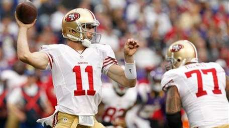 Alex Smith's franchise record of 249 passes without