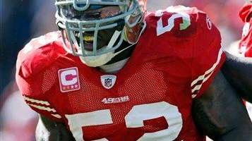 Patrick Willis, who has been named to the
