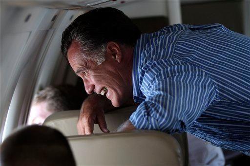 Republican presidential candidate, former Massachusetts Gov. Mitt Romney,